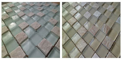 View Mineral Glass/Stone Mosaic