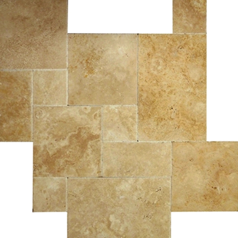 Country Classic French Pattern Travertine Tile
