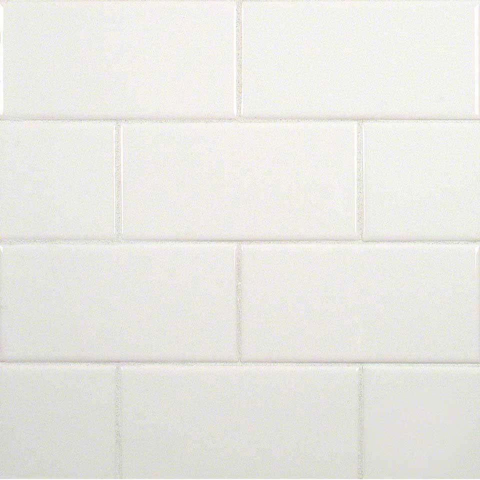 Pure white subway 3x6 glossy ceramic subway tile shadesofstone dailygadgetfo Choice Image